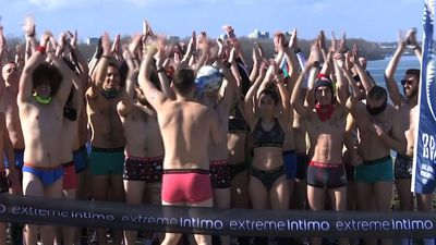 Dozens take part in underpants run