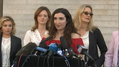 Weinstein accusers in LA express gratitude, hope