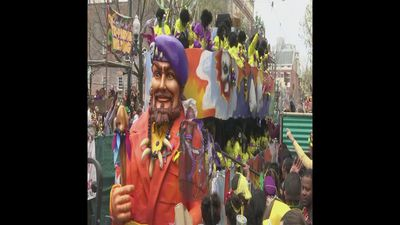 New Orleans celebrates end of carnival