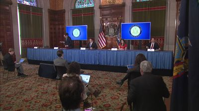 Cuomo: Virus testing is up in NY state