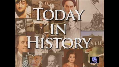 Today in History for April 3rd