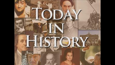 Today in History for April 6th