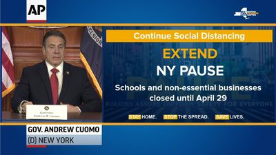 Cuomo extends stay-at-home order, doubles fines