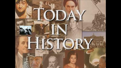 Today in History for April 7th