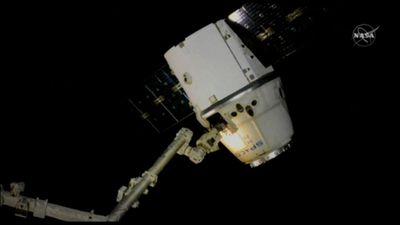 Cargo ship leaves International Space Station
