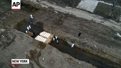 Bodies buried in NYC trench increase amid pandemic
