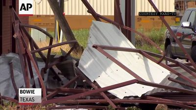 Severe storms damage North Texas region