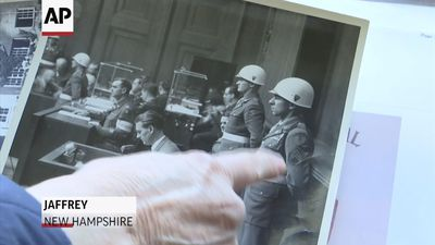 Lives Lost: Veteran guarded Nazis during war trial