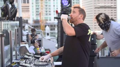 Guetta raising spirits and money for COVID-19 relief