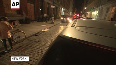 Stores ransacked in NYC shopping district