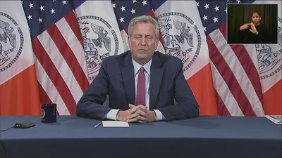 NYC mayor eyeing curfew after violence flares