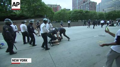 Several arrests as NYC curfew takes effect