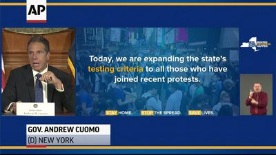 Cuomo: Protesters have 'civic duty' to get tested
