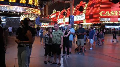 Las Vegas casinos reopen after coronavirus closure