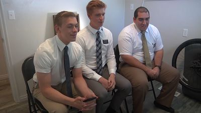 Mormon missionaries take message online