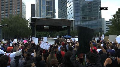 Houston hip-hop artists organize massive protest