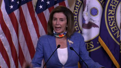 Pelosi hits Trump on Russia after intel briefing