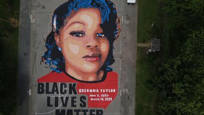 Mural of Breonna Taylor painted in Maryland park