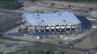 Michigan's Palace of Auburn Hills Imploded