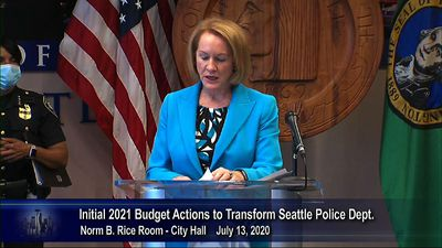 Seattle mayor: police cuts plan 'not responsible'
