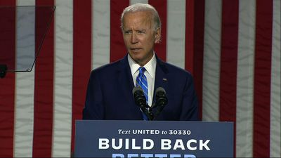 Biden hits Trump while unveiling $2T climate plan