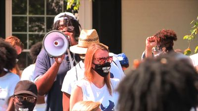 Protesters arrested outside Kentucky AG's home