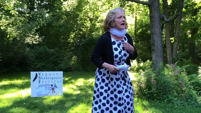 Traveling Shakespeare visits Vermont backyards