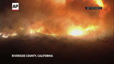 Southern California wildfire continues to rage