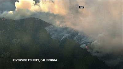 Thousands remain evacuated from So. Cal. wildfire