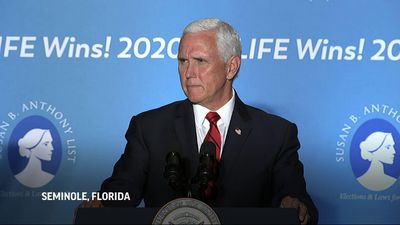 Pence touts Trump to pro-life audience in Florida