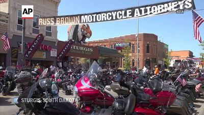 South Dakota biker rally underway amid pandemic