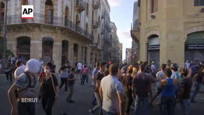 Tensions on the rise over Beirut explosion