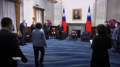 HHS Sec. Azar visits Taiwan amid US-China tension