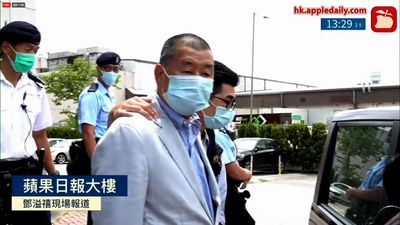 Hong Kong tycoon and activist Jimmy Lai arrested