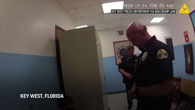Video: Florida police tried to handcuff 8-year-old