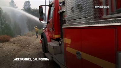 Heat wave adds to California fire danger