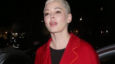 Rose McGowan snubbed by family chat