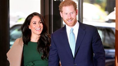 Prince Harry's son has his hair colour
