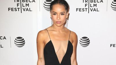 Zoe Kravitz's natural look
