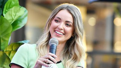 Kaitlynn Carter laughs off her split from Miley Cyrus