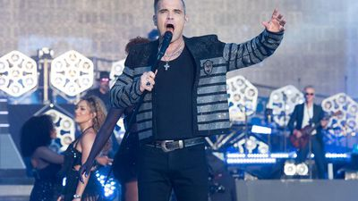 Robbie Williams wants to headline Glastonbury