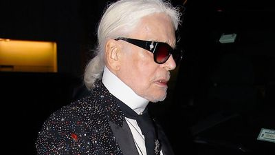 Cara Delevingne and Kate Moss' tribute to Karl Lagerfeld