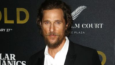 Matthew McConaughey's close encounter with deadly snake