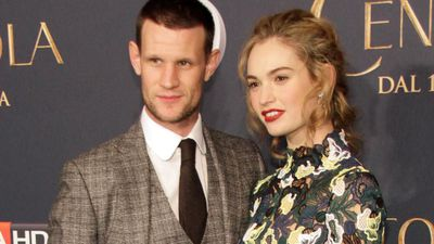 Matt Smith reportedly splits from Lily James