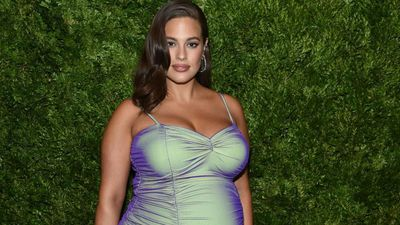 Ashley Graham's pregnancy beauty routine