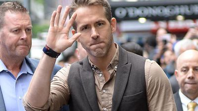 Ryan Reynolds almost trampled by passionate fans at convention