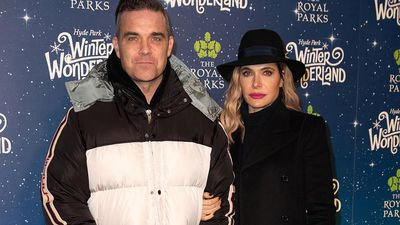 Robbie Williams jokes Ayda Field didn't make the cut for Christmas duet