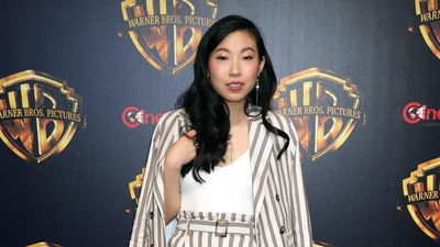 Awkwafina deflects with humour