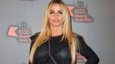 Katie Price struggles to be away from son Harvey