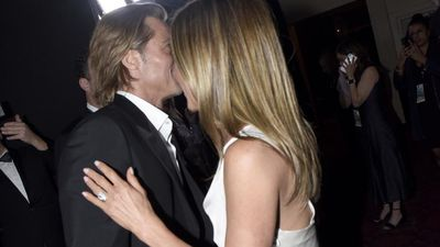 Brad Pitt 'naive' about frenzy surrounding Jennifer Aniston reunion
